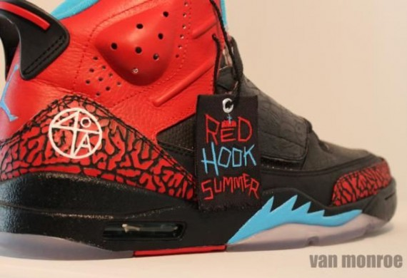 Jordan Son of Mars: Red Hook Summer Spike Lee Customs by Van Monroe