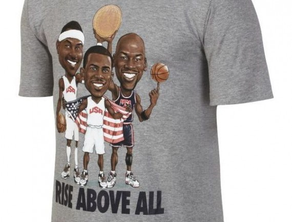 Jordan Triple Threat Rise Above All T Shirt