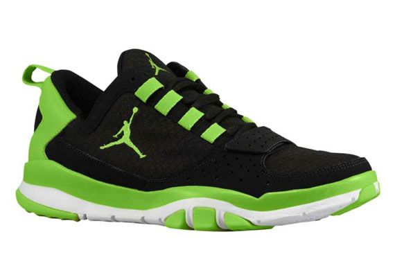 Jordan Trunner Dominate: Black – Brilliant Green – White