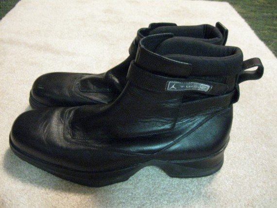 Vintage Gear: Jordan Two3 Black Leather Boots