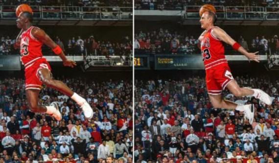 Matt Lauer Becomes Michael Jordan