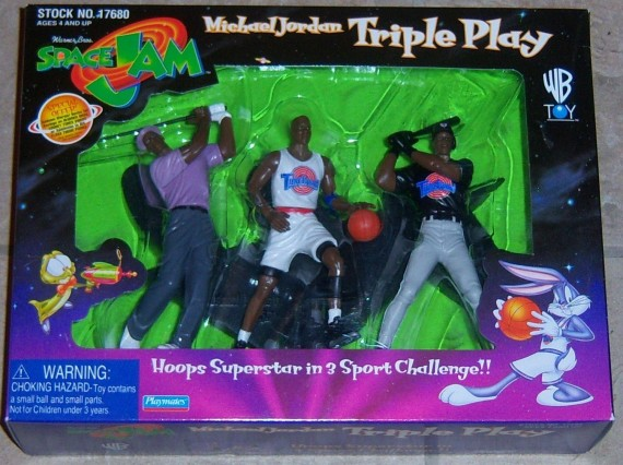 Vintage Gear: Michael Jordan Space Jam Triple Play Set