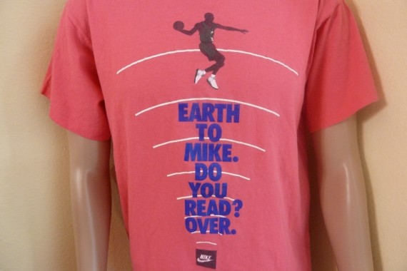 Vintage Gear: Nike Earth to Mike T Shirt