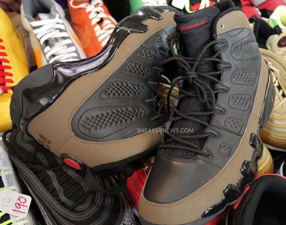 Olive Air Jordan IX