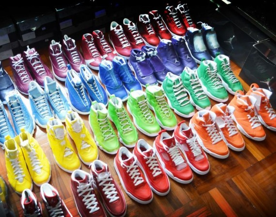 Air Jordan Rainbow Collection