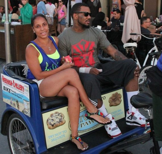 The Game Wearing Air Jordan IV White/Varsity Red