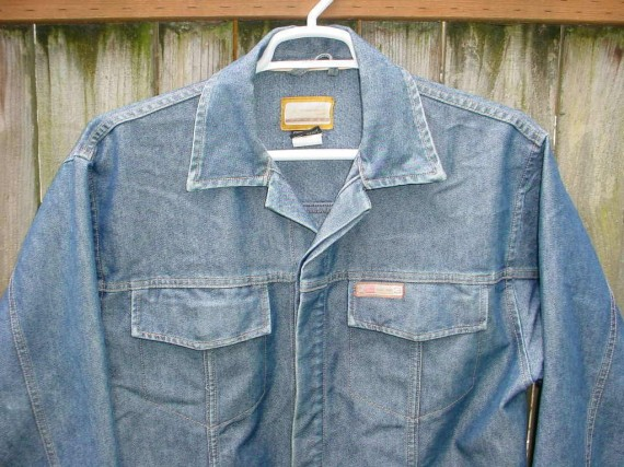 Vintage Gear: Jordan Two3 Denim Jacket