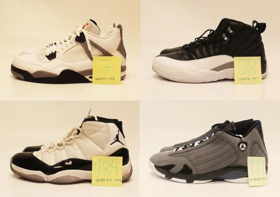 Warren Sapp Air Jordan Collection Auction