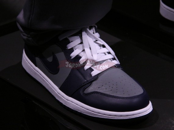 "Air Jordan 1 Phat: ""Georgetown"""