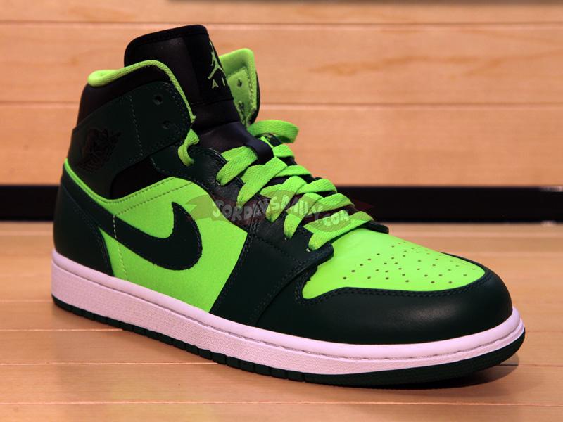 Air Jordan 1 Phat: Green – Neon - Air Jordans, Release Dates & More |  JordansDaily.com