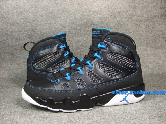 uk availability 71e63 bc171 air jordan 9 black photo blue