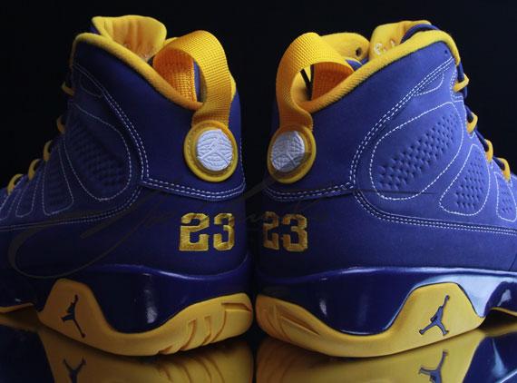 """Air Jordan 9 Calvin Bailey Air Jordan 9: """"Ca..."""