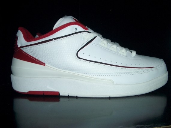 The Daily Jordan: Air Jordan II Low   White   Varsity Red   2004