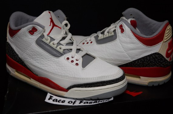 The Daily Jordan: Air Jordan III OG Fire Red   1988