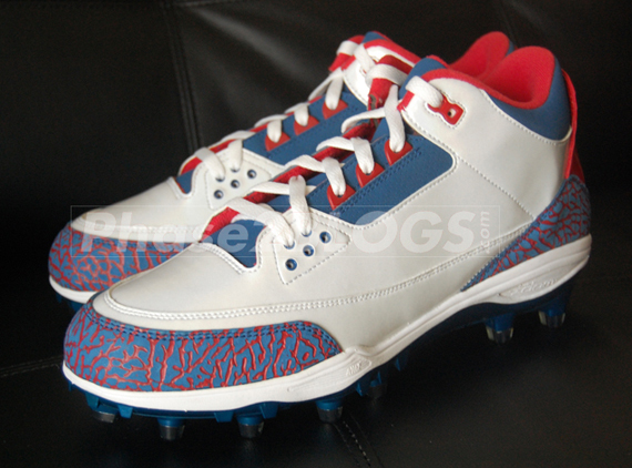 Air Jordan III: Michael Vick Pro Bowl PE