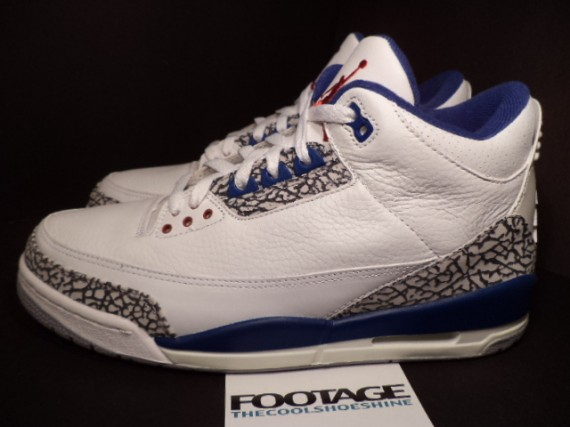 The Daily Jordan: Air Jordan III True Blue   2001