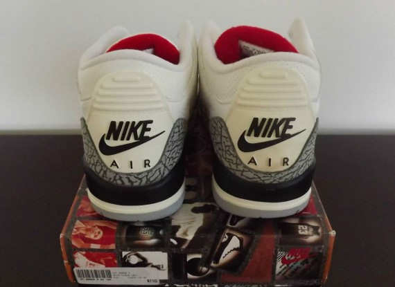 Air Jordan III: White/Cement   1994 Retro on eBay