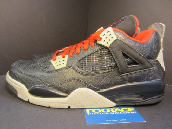 The Daily Jordan: Air Jordan IV Laser   Black   Varsity Red   2005