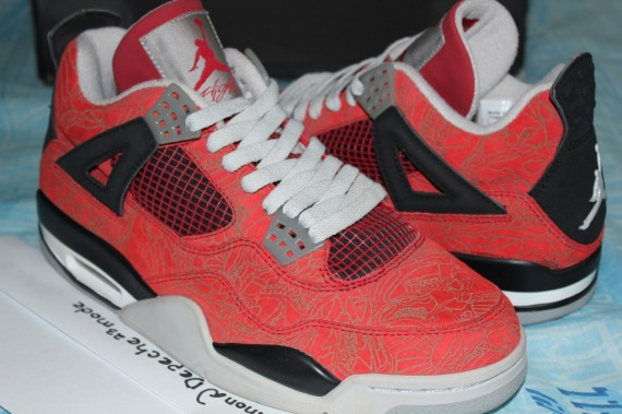 Air Jordan IV: Red Laser Sample   on eBay
