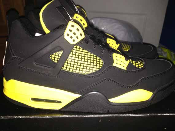 The Daily Jordan: Air Jordan IV Thunder   2006