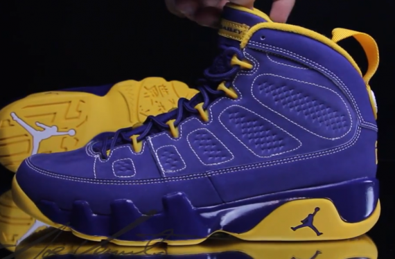 Air Jordan IX: Calvin Bailey   Video Review