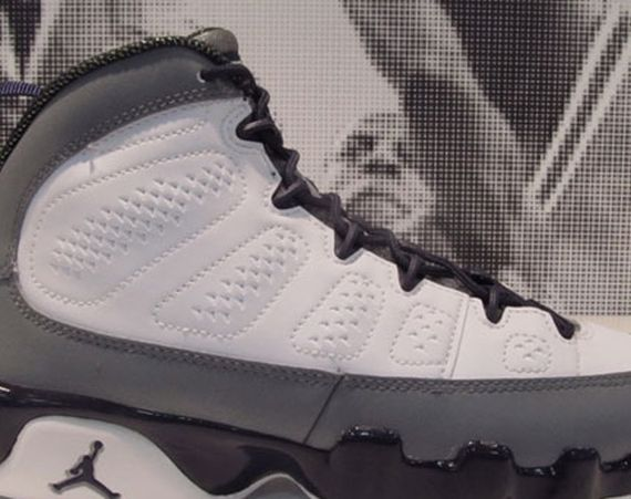Air Jordan IX GS: Medium Grey – Imperial Purple