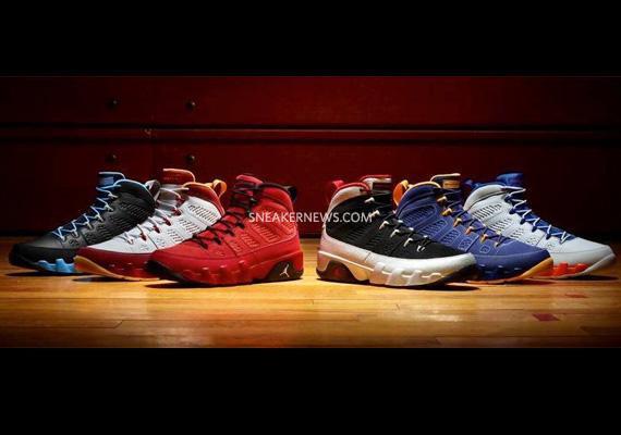 """Air Jordan IX """"Kilroy Pack"""""""