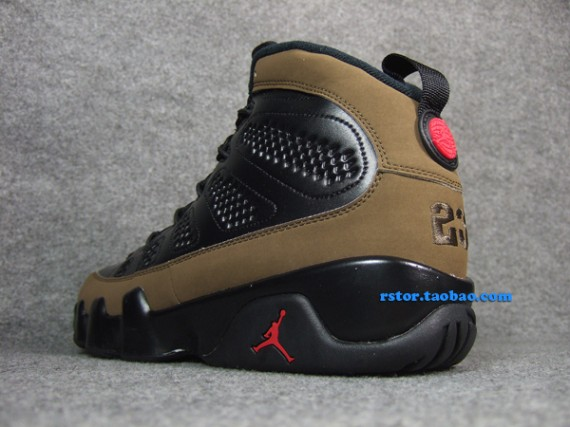Air Jordan IX Retro: Olive