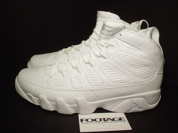 The Daily Jordan: Air Jordan IX Silver Anniversary   2010