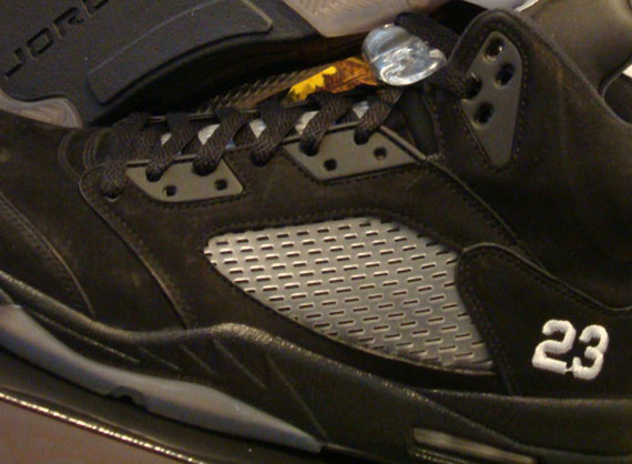 Air Jordan V: Black/Ice Sample