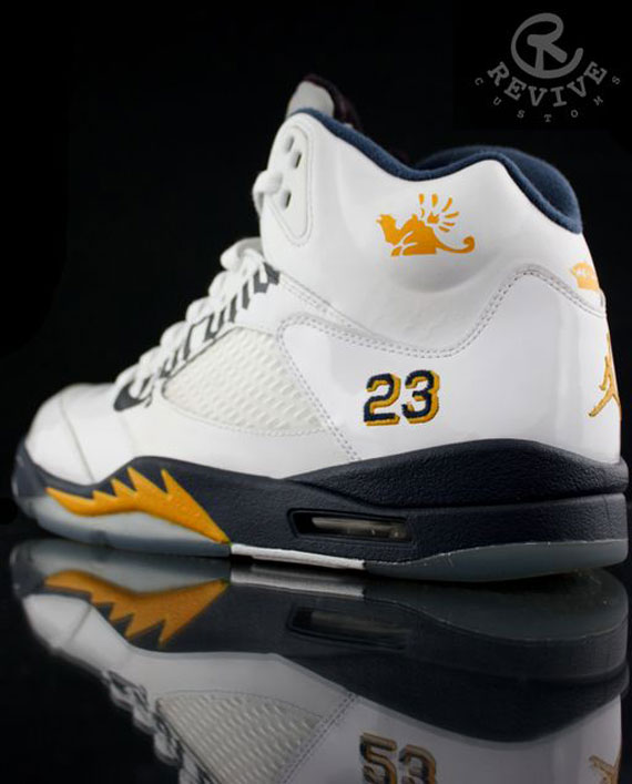 "Air Jordan V: ""Corona"" Customs by Revive - Air Jordans, Release Dates &  More   JordansDaily.com"