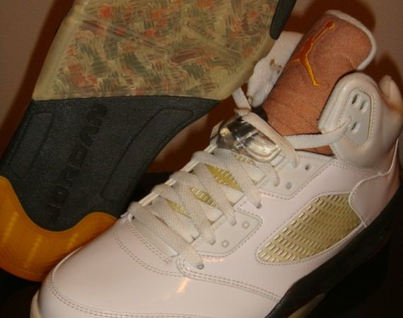 "Air Jordan V: ""Dark Army"" – Unreleased Sample"