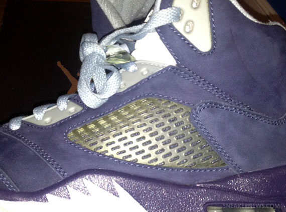 "Air Jordan V: ""Navy"" Sample"