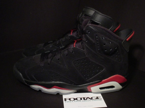 The Daily Jordan: Air Jordan VI   Black   Varsity Red   2010