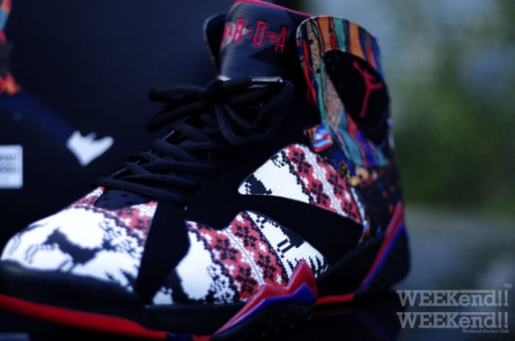 Air Jordan VII: A Different World Customs