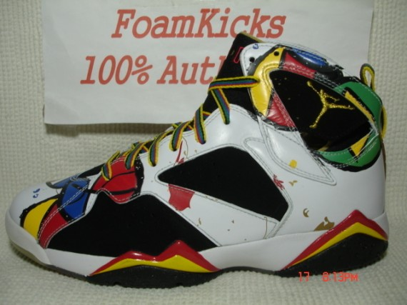 The Daily Jordan: Air Jordan VII Miro   2008