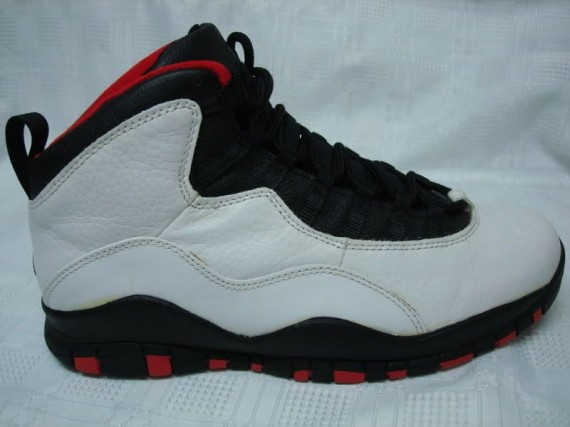 The Daily Jordan: Air Jordan X OG Chicago   1995
