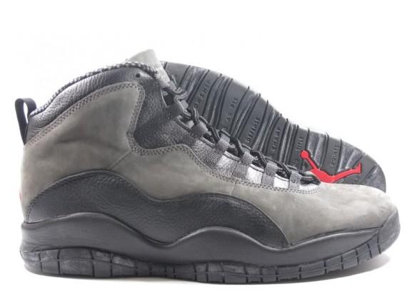 The Daily Jordan: Air Jordan X OG   Black   Dark Shadow   1994