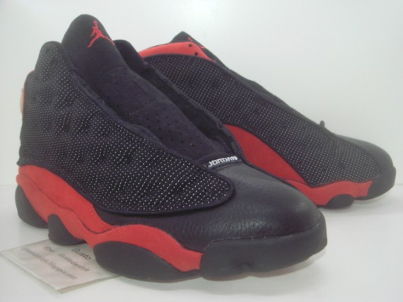 air jordan 13 og black red