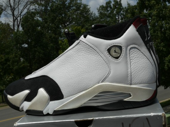 The Daily Jordan: Air Jordan XIV OG   White   Black   1998