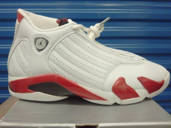 The Daily Jordan: Air Jordan XIV OG   White   Varsity Red   1999