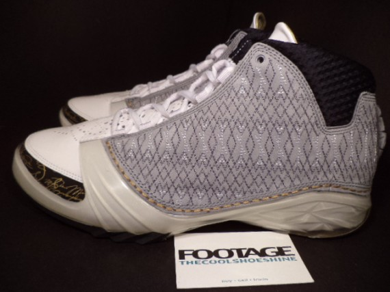 The Daily Jordan: Air Jordan XX3   Stealth   Metallic Gold   2008