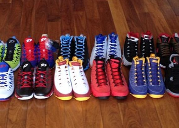 Chris Paul Receives Jordan Brand Sneaker Shipment