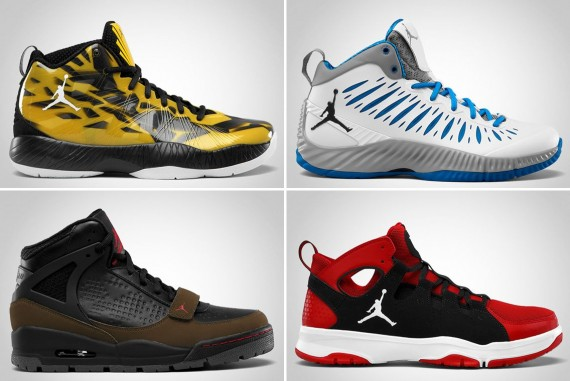 Jordan Brand November 2012 Footwear