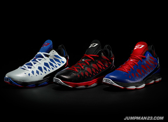 Jordan CP3.VI: October 2012 Colorways