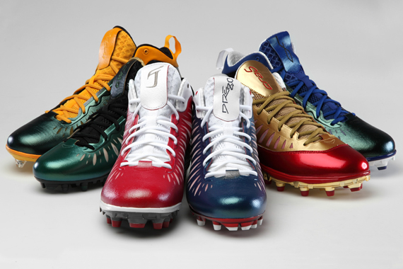 Jordan Super.Fly: NFL PE Cleats Collection
