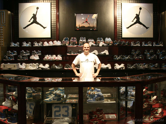 Air Jordan Exhibits @ ShoeZeum Las Vegas