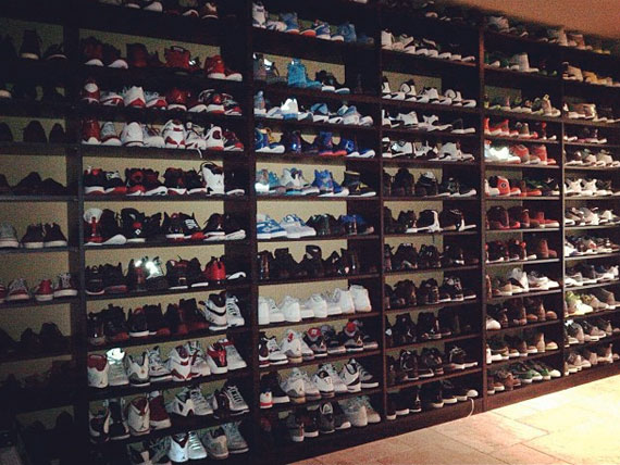 Stephen Jacksons Air Jordan Collection