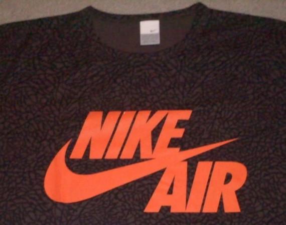 T Release Print Shirt Gear Jordans Elephant Air Vintage Nike IYwxOFqXx8