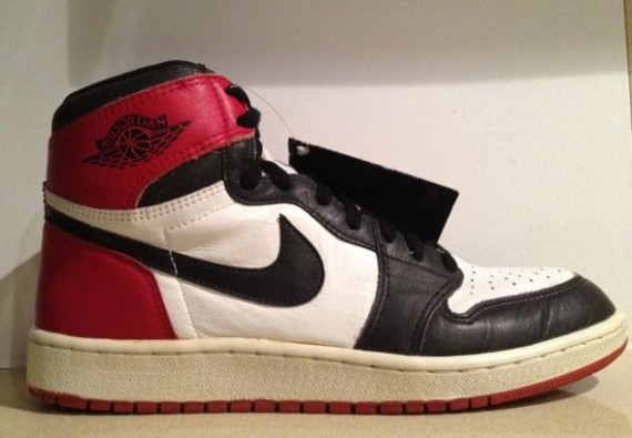 The Daily Jordan: Air Jordan 1 Black Toe OG   1985